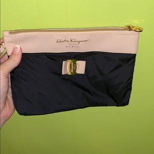 Ferragamo cosmetic or perfume bag.